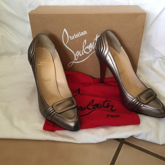 Christian Louboutin Pewter Pumps Image 7