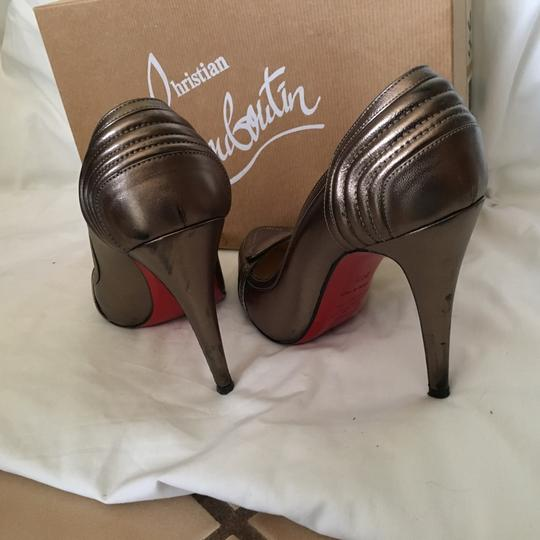 Christian Louboutin Pewter Pumps Image 9
