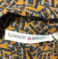Eleanor P. Brenner Silk Top Brown Image 4