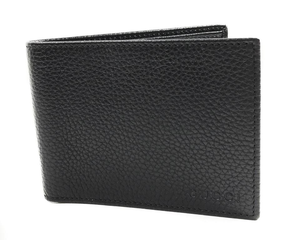 371483a84bf Gucci Black New 278596 Men s Leather Bifold Wallet - Tradesy