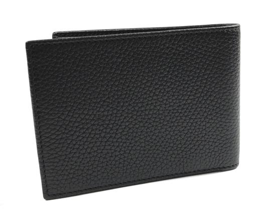 Gucci NEW GUCCI 278596 Men's Leather Bifold Wallet, Black Image 1