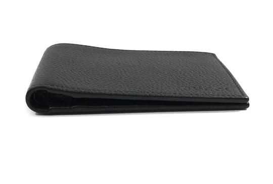Gucci NEW GUCCI 278596 Men's Leather Bifold Wallet, Black Image 4