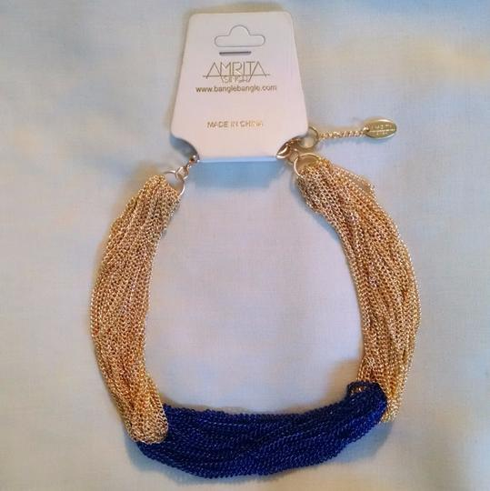 Preload https://img-static.tradesy.com/item/24147230/gold-lapis-chains-new-necklace-0-1-540-540.jpg