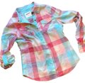 Arizona Jean Company Button Down Shirt multi plaid