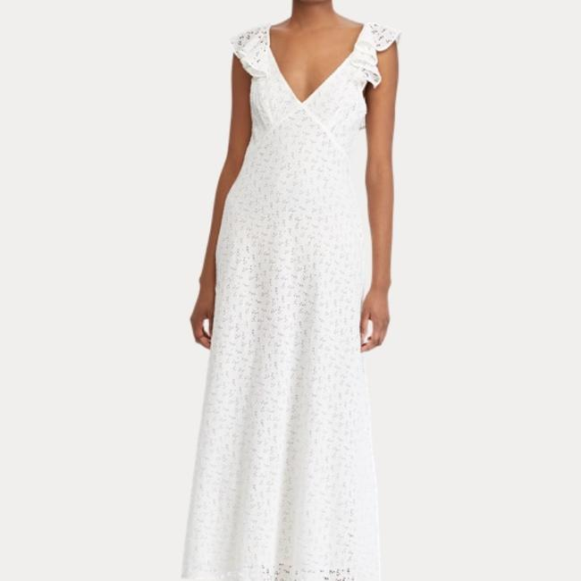 white Maxi Dress by Ralph Lauren Image 2