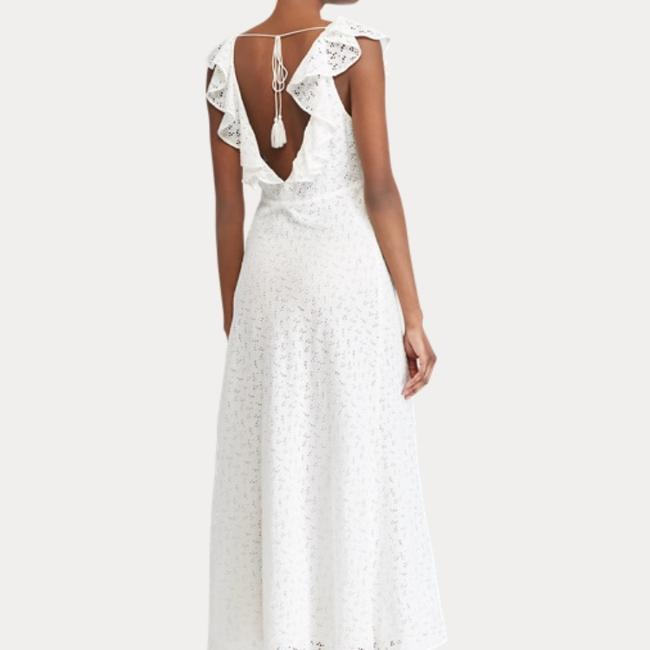 white Maxi Dress by Ralph Lauren Image 4