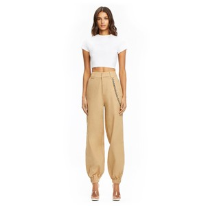 I Am Gia Khaki/Chino Pants tan