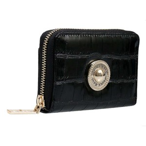 Versace Jeans Collection Versace Black Compact Wallet