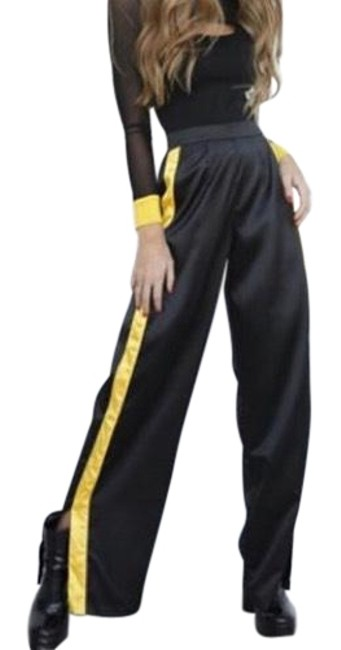 Preload https://img-static.tradesy.com/item/24147659/black-and-yellow-maxwell-pants-size-6-s-28-0-1-650-650.jpg