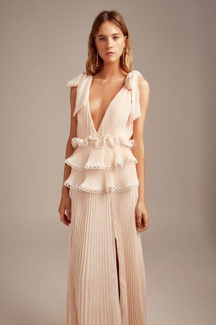 Keepsake the Label Gown Maxi Ruffle Ethereal Dress