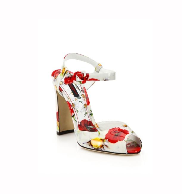 Dolce&Gabbana Poppy Print Pumps Size EU 39 (Approx. US 9) Regular (M, B) Dolce&Gabbana Poppy Print Pumps Size EU 39 (Approx. US 9) Regular (M, B) Image 1