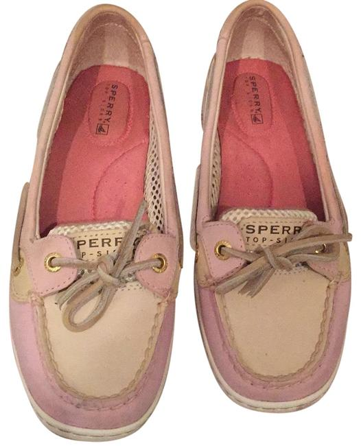 Sperry Pink Boatshoes Flats Size US 6 Regular (M, B) Sperry Pink Boatshoes Flats Size US 6 Regular (M, B) Image 1