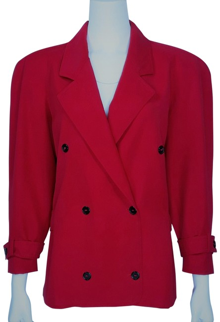 Preload https://img-static.tradesy.com/item/24147759/valentino-red-vintage-wool-gab-double-breasted-cropped-trench-jacket-size-10-m-0-1-650-650.jpg