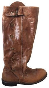Anouk Brown leather Boots