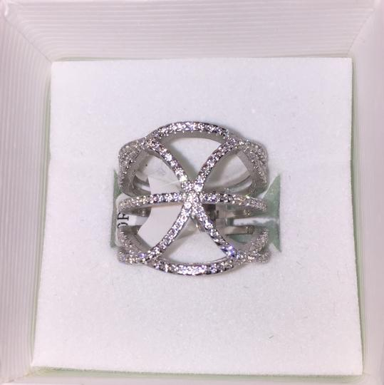 Other Sterling Silver 925 Fashion Ring with CZ's