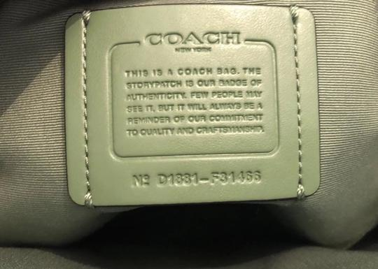 Coach New With Tags Satchel in green
