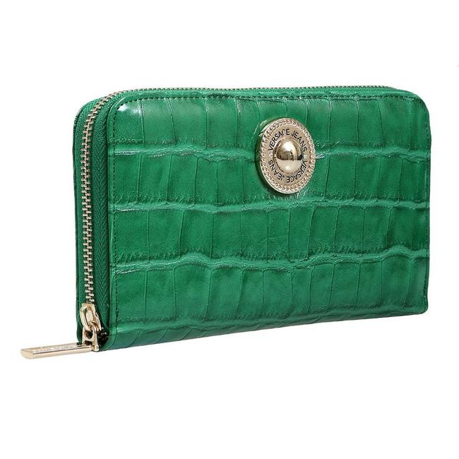 Versace Jeans Collection Green Wallet Versace Jeans Collection Green Wallet Image 1
