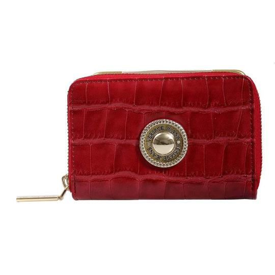 Versace Jeans Collection Versace Red Compact Wallet