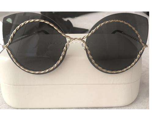Marc Jacobs Marc Jacobs, Metal Twist Cat-Eye Sunglasses Image 1