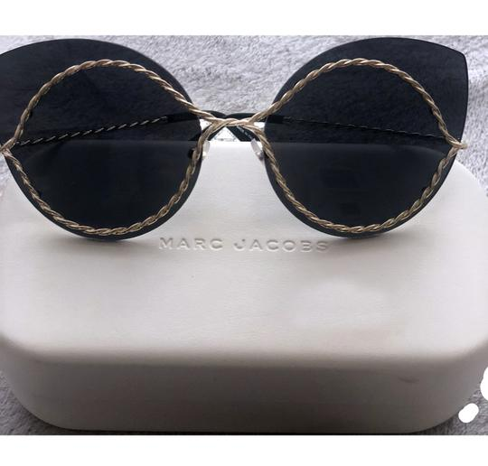 Marc Jacobs Marc Jacobs, Metal Twist Cat-Eye Sunglasses Image 2
