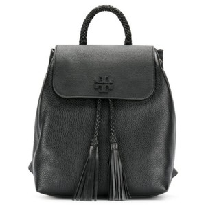 Tory Burch Drawstring Closure Leather Casual Backpack