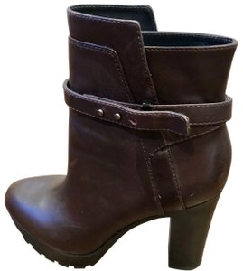 Pour La Victoire Brown Dark Brown Boots