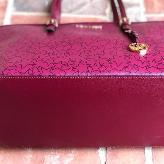 Michael Kors Tote in mulberry/ plum