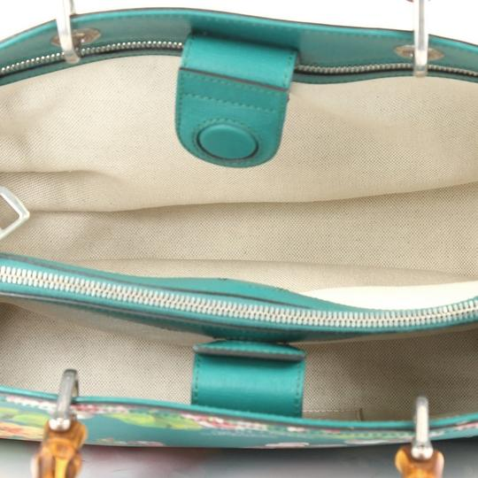 Gucci Leather Tote in Green
