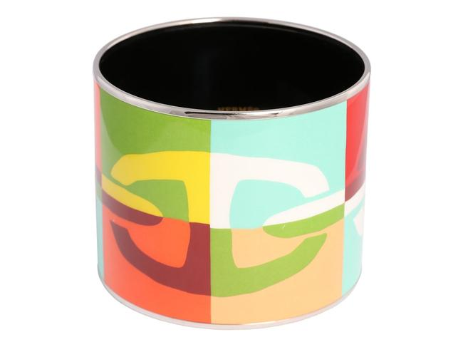 Hermès Multicolor Extra Wide Chaine D'ancre Bangle Bracelet Hermès Multicolor Extra Wide Chaine D'ancre Bangle Bracelet Image 1