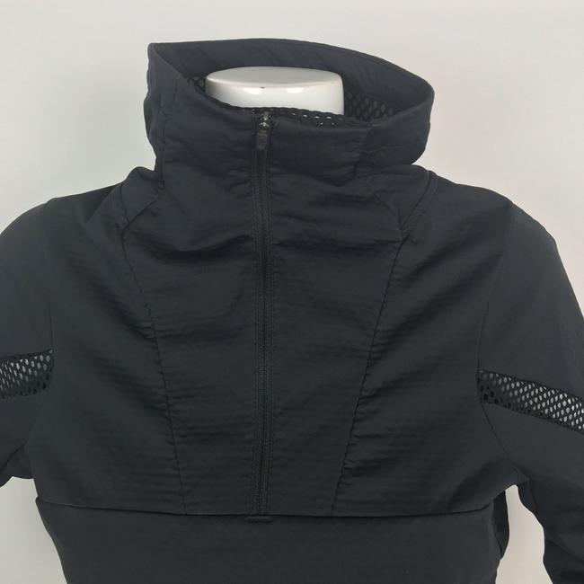 Nike Nike Jacket Pullover Motion Cover Up Mesh Black Athletic Women Size S