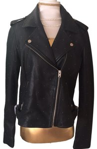 Lucky Brand black Leather Jacket