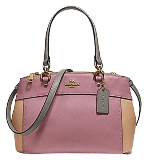 Preload https://img-static.tradesy.com/item/24148371/coach-christie-mini-brooke-carryall-colorblock-f31994-multicolor-leather-satchel-0-1-540-540.jpg