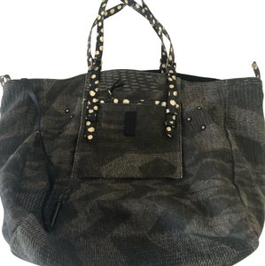 Jérôme Dreyfuss Tote in green/black