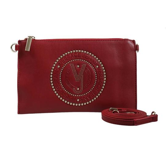 Versace Jeans Collection Red Clutch