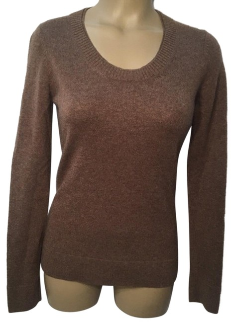 Preload https://img-static.tradesy.com/item/24148474/peck-and-peck-cashmere-brown-sweater-0-1-650-650.jpg