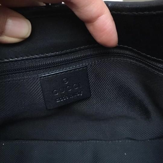 Gucci Black Purse Baguette
