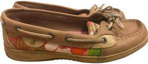 Sperry Boat multi floral Flats