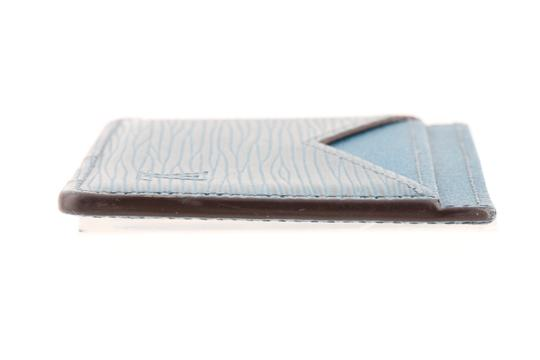 Louis Vuitton Louis Vuitton Blue Epi Leather Neo Porte Cartes M67210 Cardholder