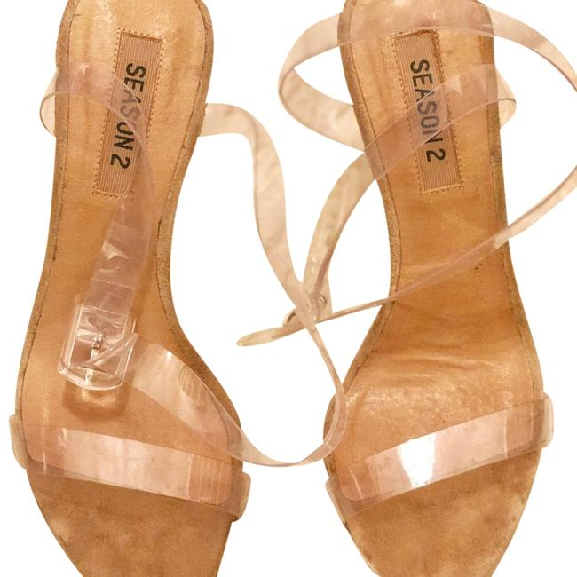 Clear Sandals Size US 7 Regular (M, B) Clear Sandals Size US 7 Regular (M, B) Image 1