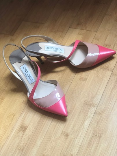 Jimmy Choo Geranium / Rose / Grey Pumps