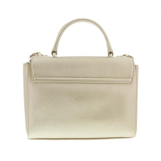 Versace Jeans Collection Satchel in Gold