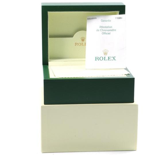 Rolex Rolex Datejust Turnograph White Dial Mens Watch 116264 Box Papers