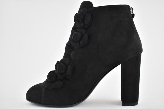 Chanel Slide Backless Mule Stiletto Chain black Boots