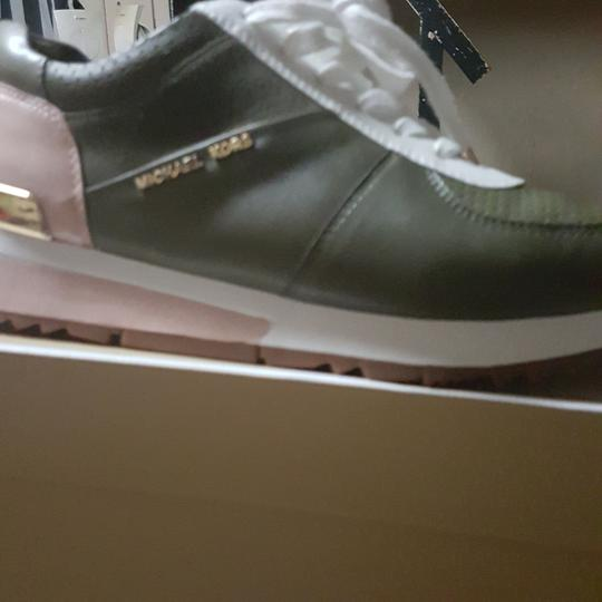 Michael Kors Green, pink and white Athletic