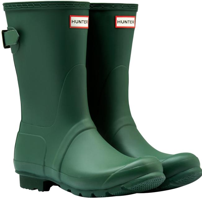 Item - Green Boots/Booties Size US 6 Regular (M, B)