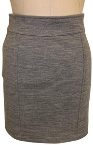 Jenni Kayne Mini Skirt Heather Grey