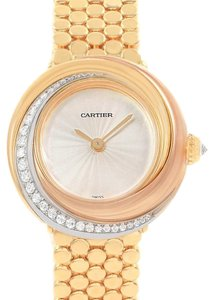 Cartier Cartier Trinity White Yellow Rose Gold Diamond Ladies Watch WG200258