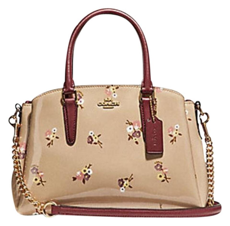 2d02264054ae Coach Mini Sage Carryall with Baby Bouquet Print F31395 Multicolor ...
