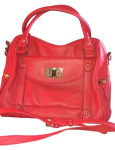 Merona Satchel in Coral