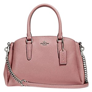 Coach Madison 36718 Christie Carryall Satchel in pink